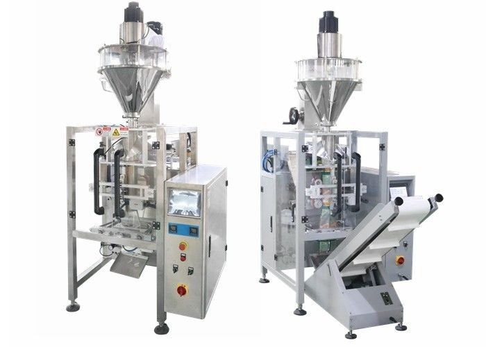 Soap Powder Filling And Packing Machine With Servo Motor / Powder Bagging Equipment
