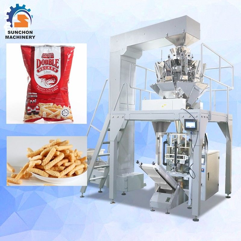 Frequency Control Vertical Packing Machine For Dried Shrimp / Sugar / Candy